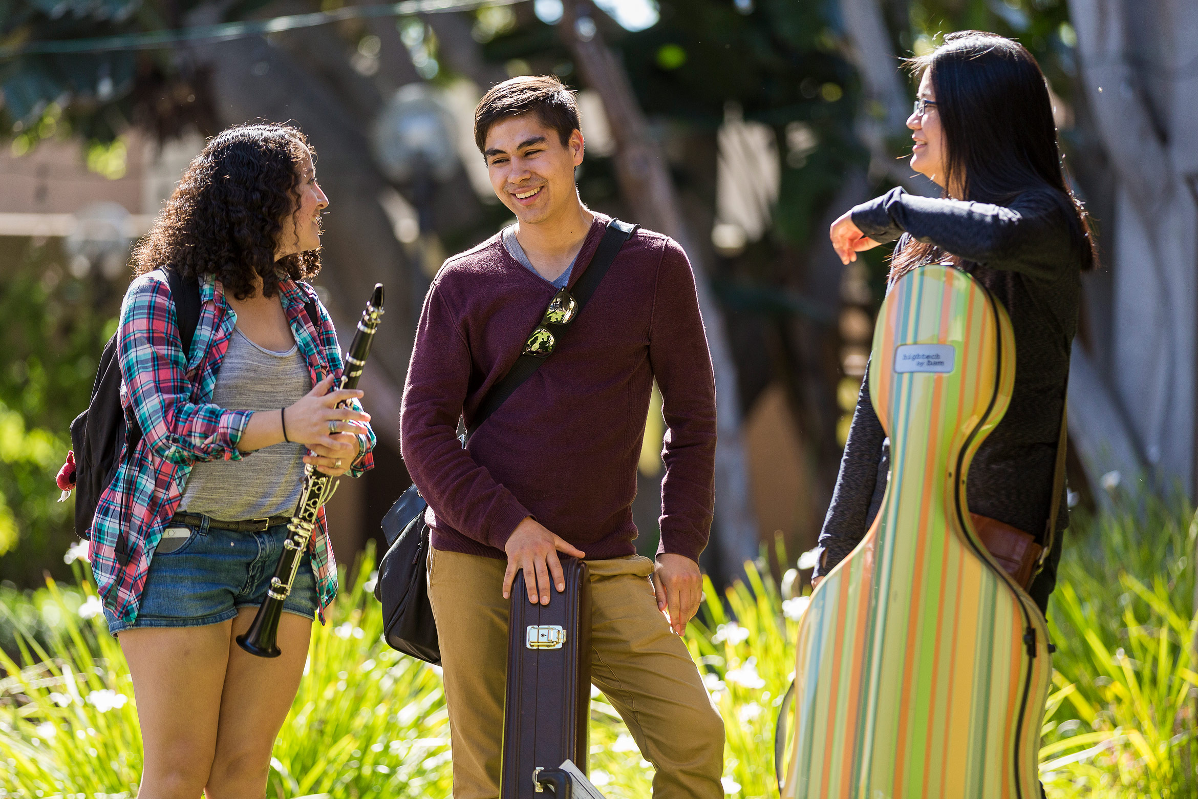 music students at UC Santa Barbara