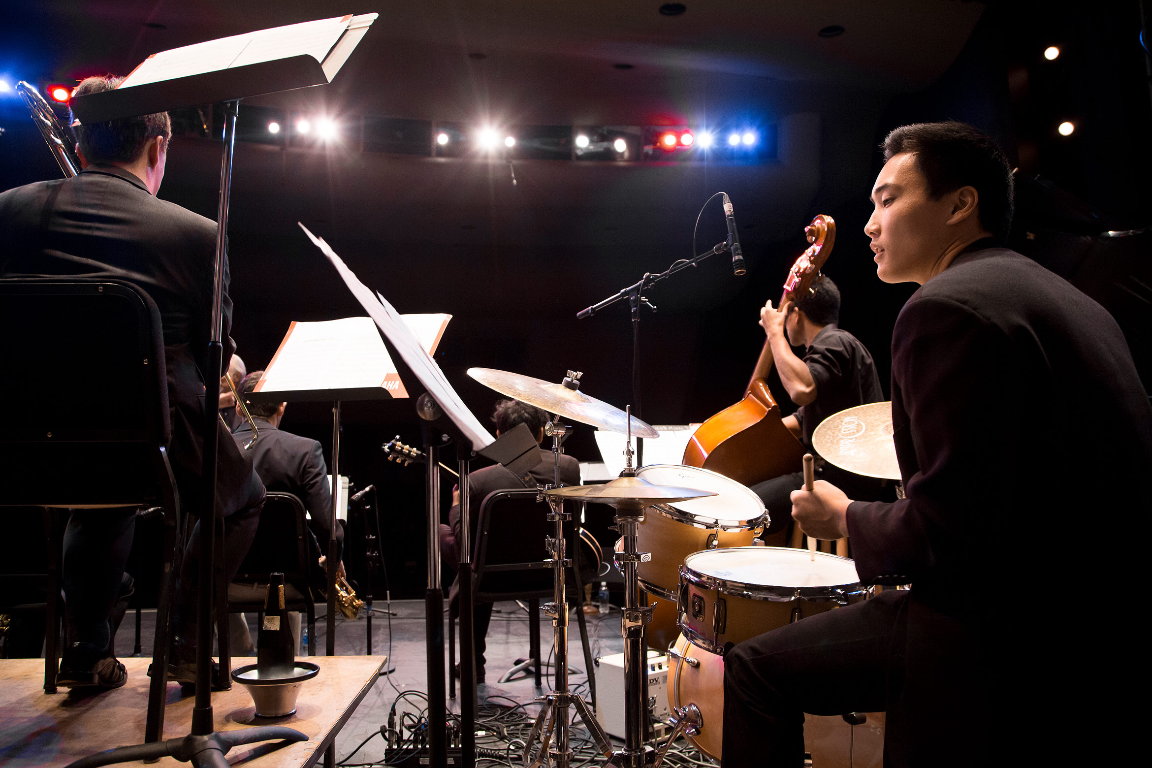 UC Santa Barbara Undergraduate Major jazz ensemble